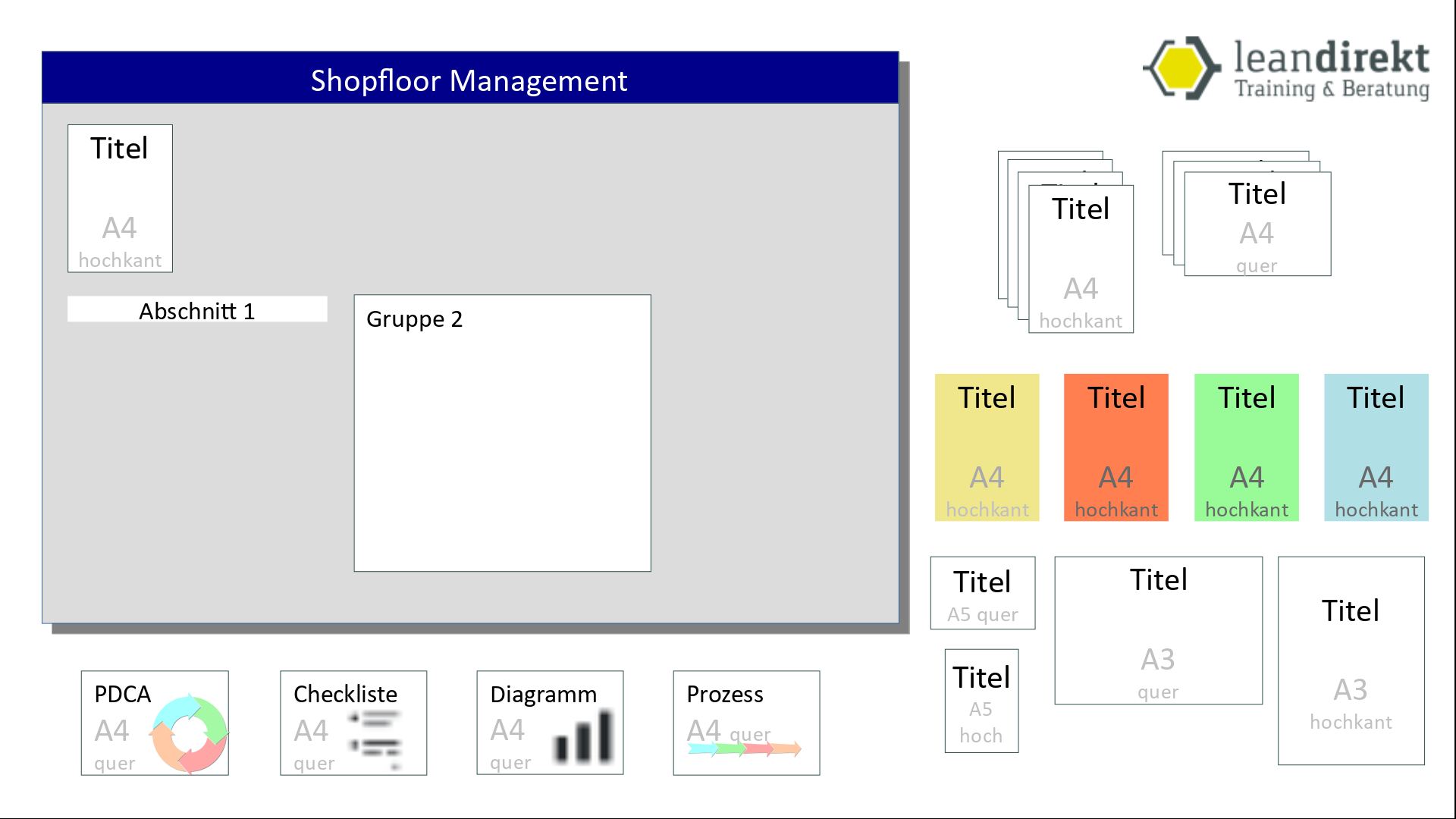 Shopfloor Management Board Designer