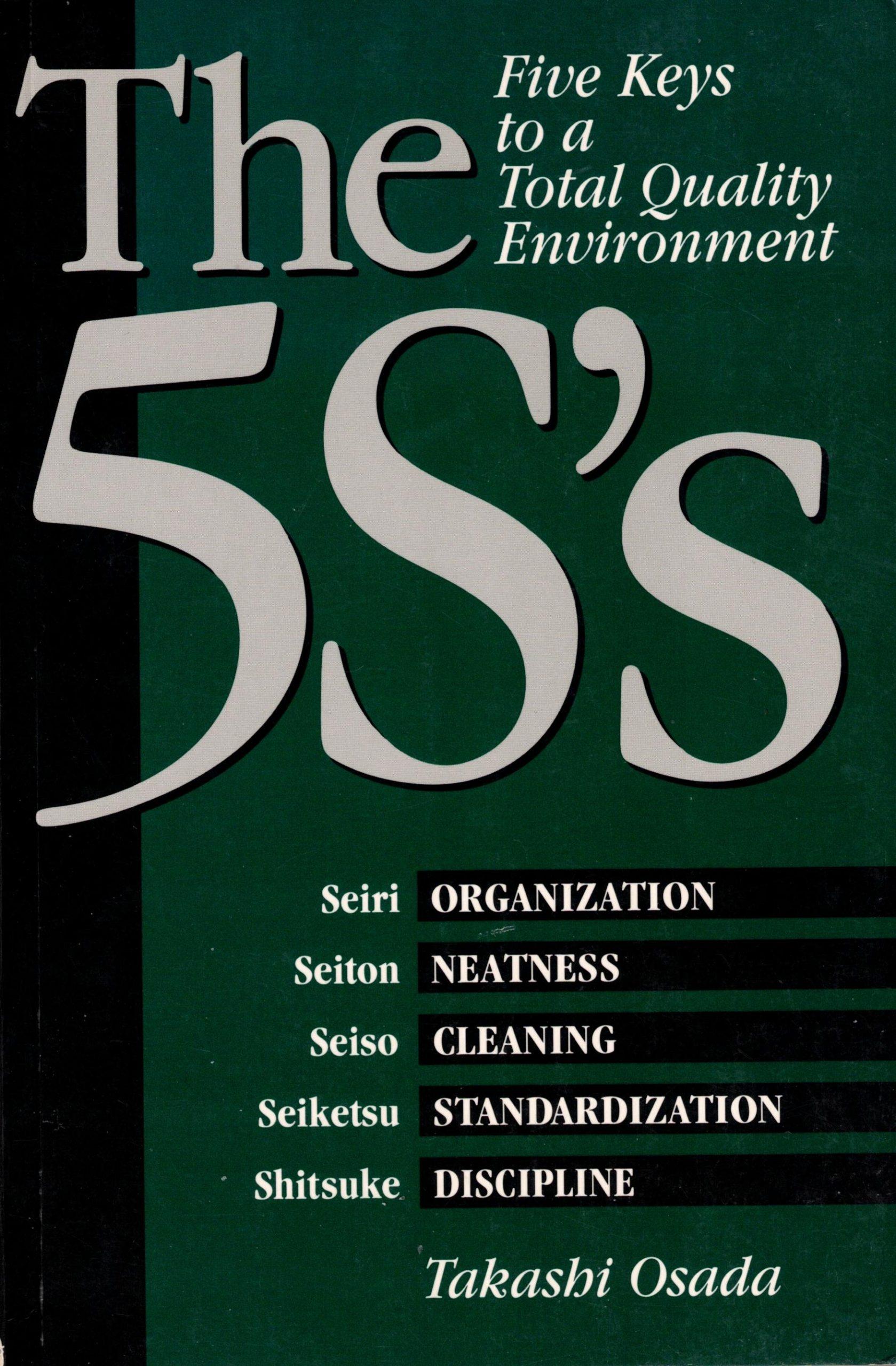 Cover 5S Buch von Osada